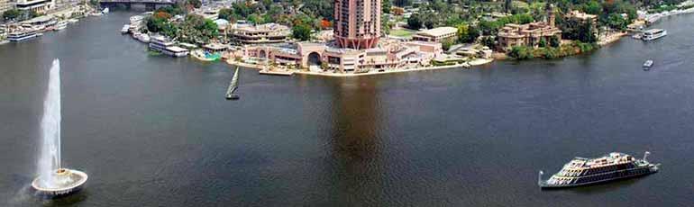 Paseo en faluca por el río Nilo