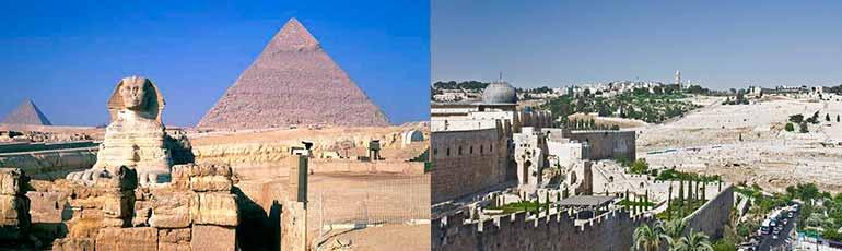 Viaje a Egipto y Jerusalén