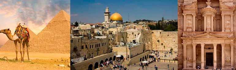 Viaje a Egipto, Jordania e Israel