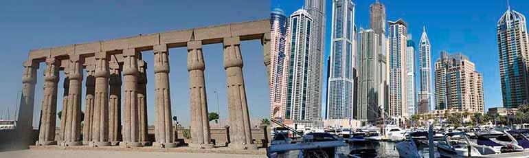 Viaje a Egipto y Dubai