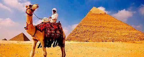 Visita a El Cairo por vuelo