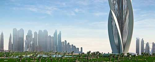 Dubái con Burj Al Arab y Burj Khalifa