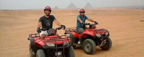 Tour en Quad por las pirámides de Egipto