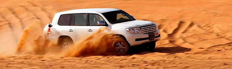 Safari por el desierto de Dubái