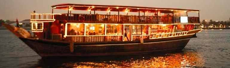 Crucero Dhow con cena