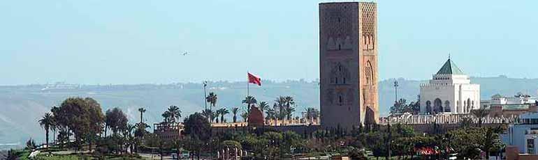 Excursión combinada a Casablanca y Rabat
