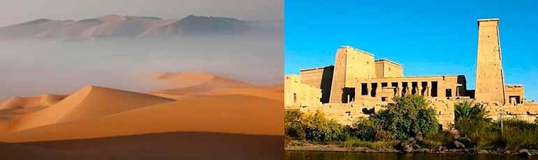 Viaje a Dubai y Egipto con crucero por el Nilo