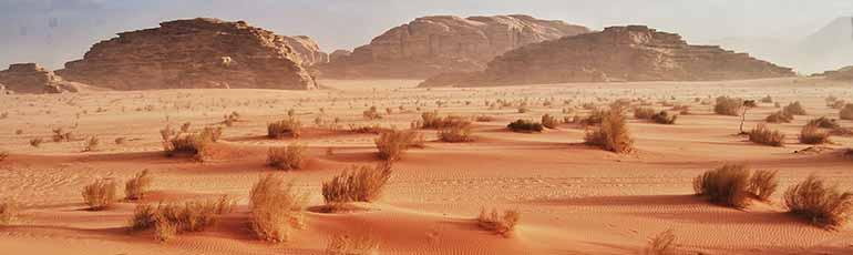 Viaje a Jordania Desierto de Wadi Rum y Mar Muerto