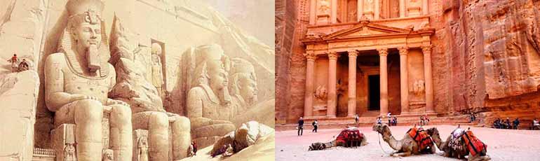 Viaje a Egipto y Jordania