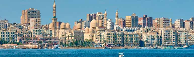 Tour a El Cairo y Alejandría por vuelo