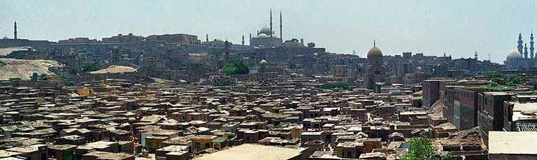 Visita al cementerio de El Cairo