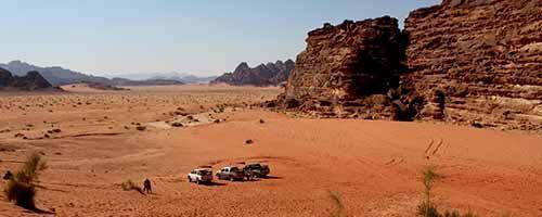 Viaje a Jordania Desierto de Wadi Rum