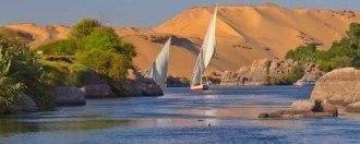 Paseo en faluca por el Nilo, Luxor