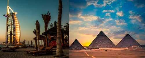 Viaje a Dubai y Egipto de 8 días