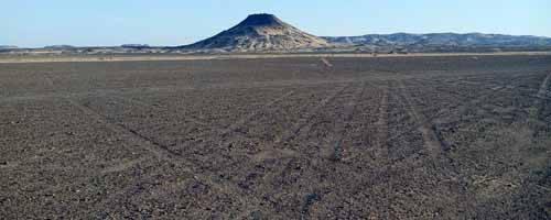 Campamento al Desierto Blanco y Negro