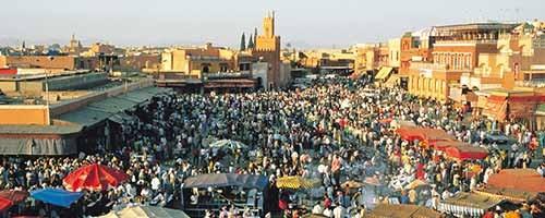 Especial Marrakech en tres días